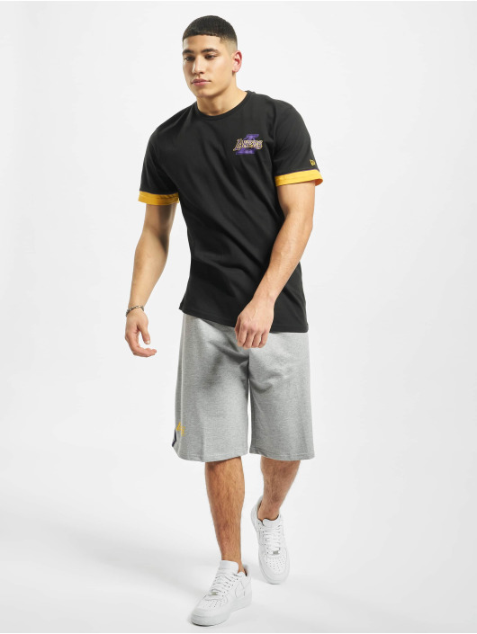 New Era Short NBA LA Lakers Piping grey