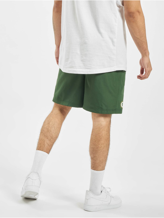 New Era Shorts NFL Green Bay Packers Team Logo And Wordmark grøn