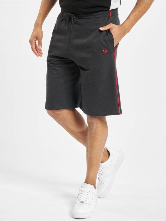New Era Shorts NBA Chicago Bulls Piping grau