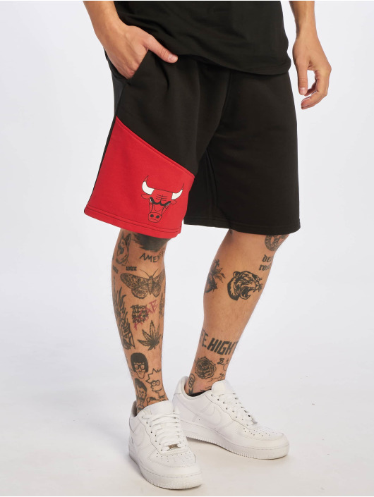 New Era Shorts NBA Chicago Bulls Colour Block schwarz