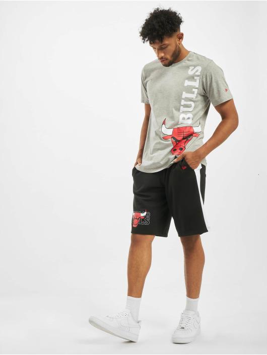 New Era Shorts NBA Chicago Bulls Graphic Overlap schwarz