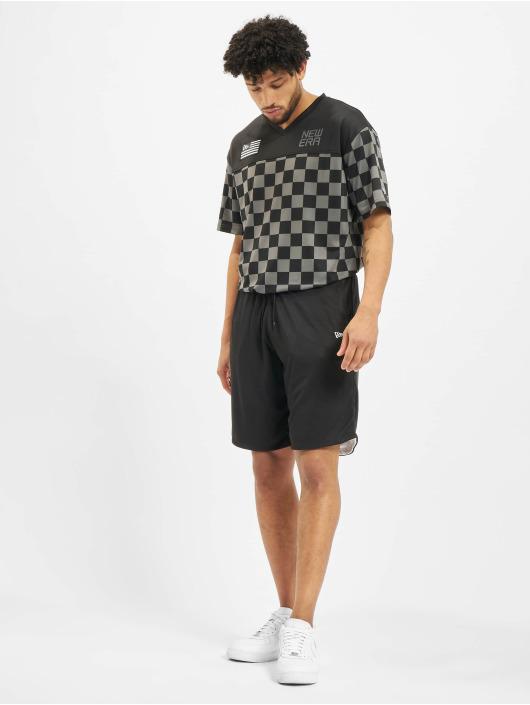 New Era Shorts Reversible schwarz