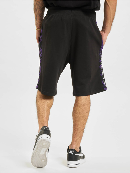 New Era Shorts NBA Los Angeles Lakers Print Panel schwarz
