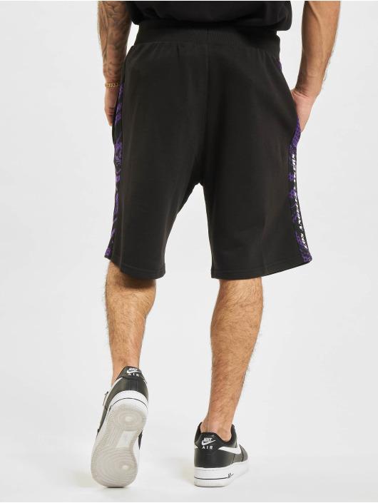 New Era Shorts NBA Los Angeles Lakers Print Panel svart