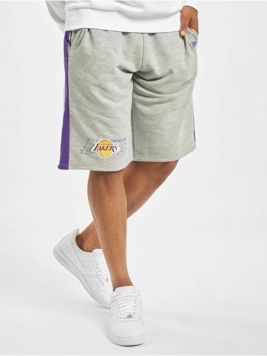 New Era Shortsit NBA LA Lakers Graphic Overlap harmaa