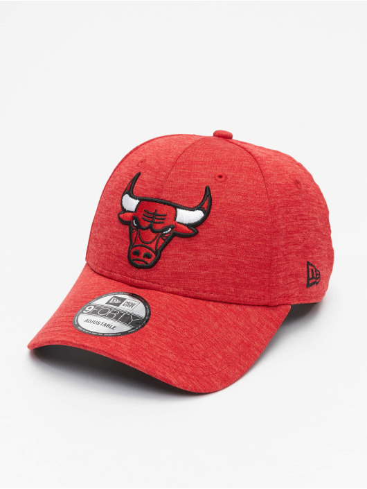 New Era Snapback NBA Chicgo Bulls Team Shadow Tech 9Forty èervená