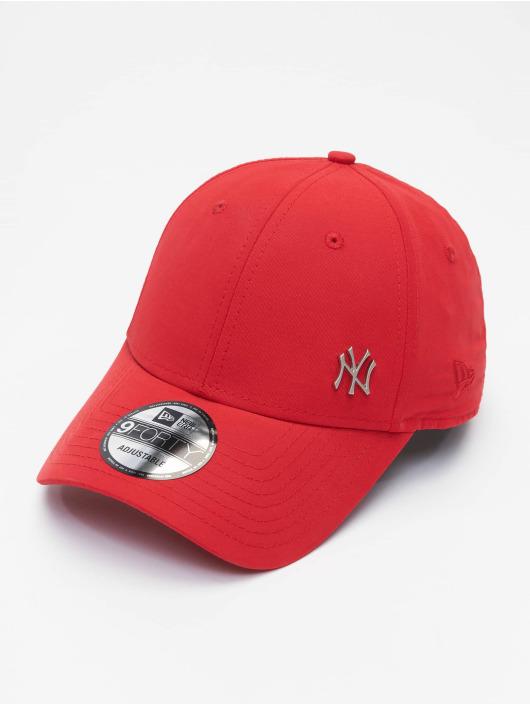 New Era Snapback MLB NY Yankees Flawleshortsleeve Logo èervená