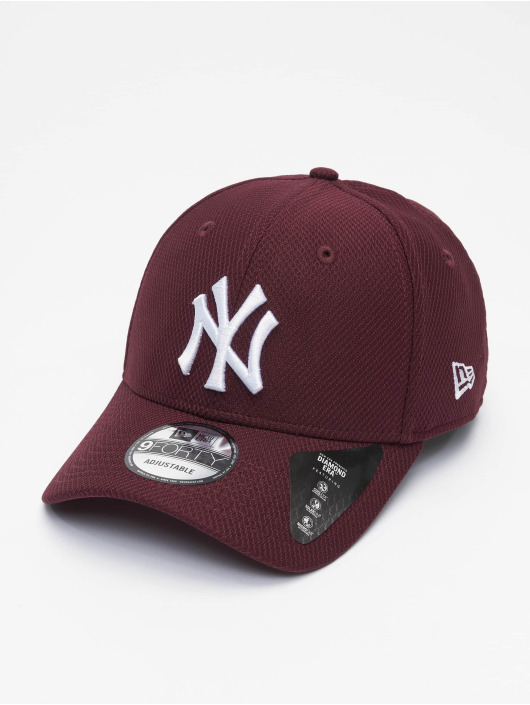 New Era Snapback MLB NY Yankees Diamond Era 9forty èervená