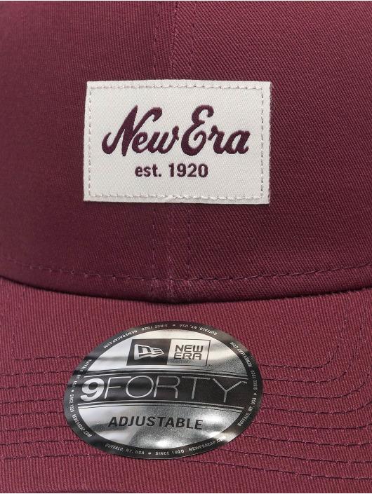 New Era Snapback Colour Essential 9Forty èervená