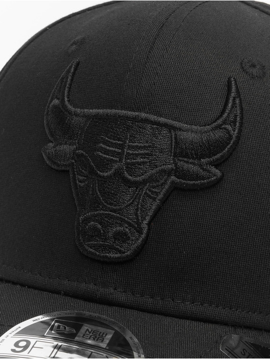 New Era Snapback NBA Chicago Bulls Tonal Black 9Fifty èierna