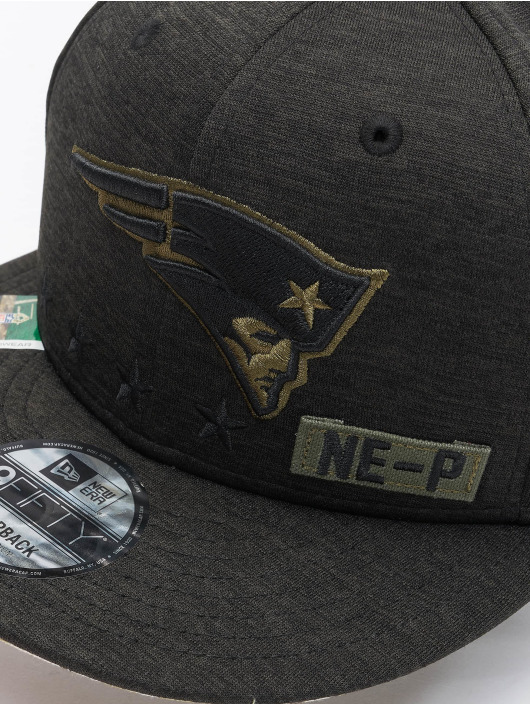New Era Snapback NFL 20 STS EM 9Fifty New England Patriots èierna