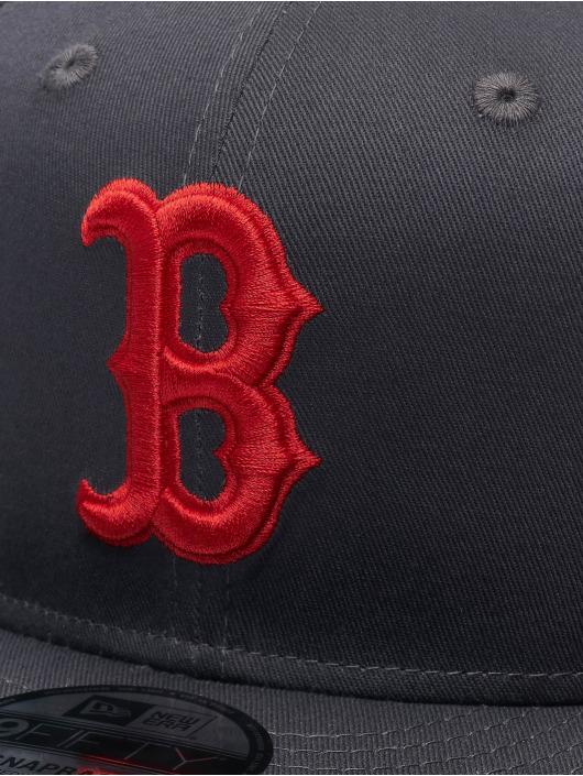 New Era Snapback MLB Boston Red Sox Snapback Cap šedá
