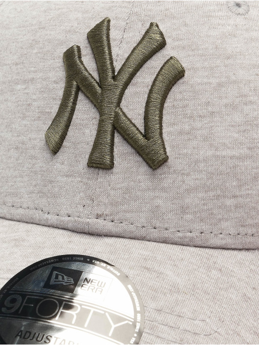 New Era Snapback MLB NY Yankees Jersey Essential 9Forty šedá