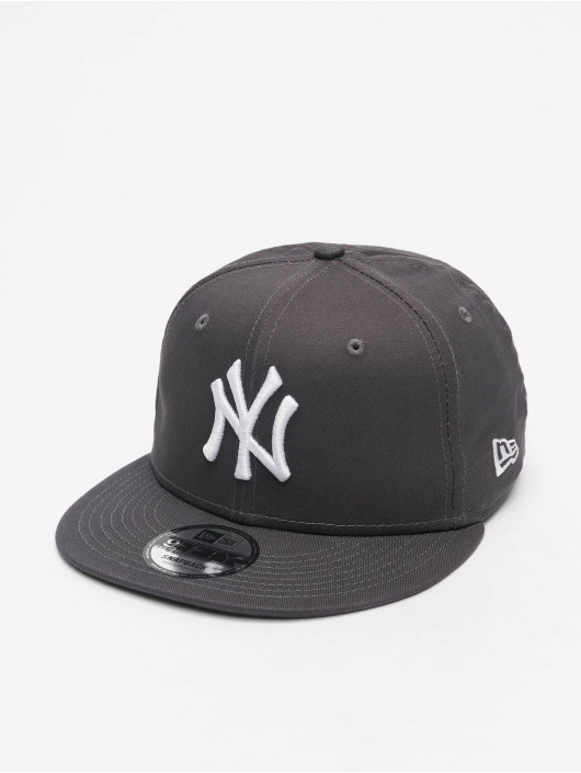 New Era Snapback MLB NY Yankees Essential 9Fifty šedá