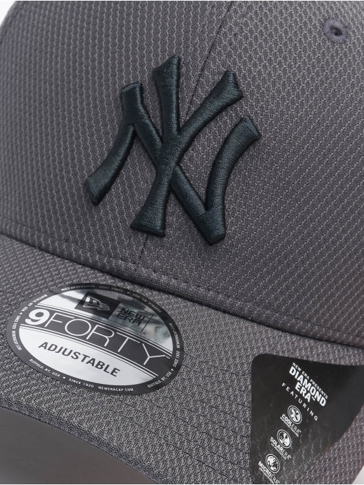 New Era Snapback MLB NY Yankees Diamond Era 9forty šedá