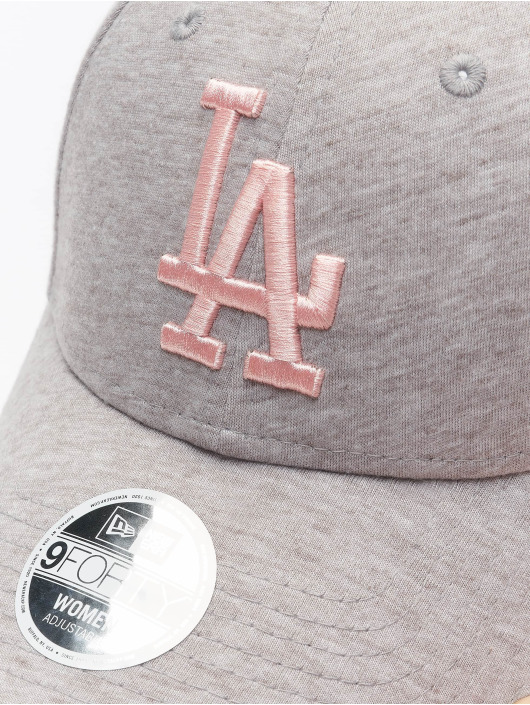 New Era Snapback MLB LA Dodgers Womens Licensed šedá