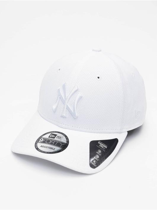 New Era Snapback MLB NY Yankees Diamond Era 9forty biela