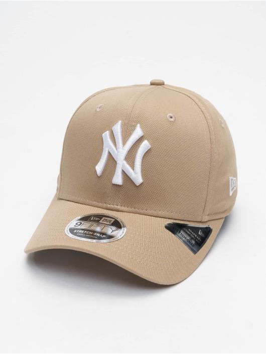 New Era Snapback Cap 9fifty Tonal NY Yankees Stretch beige