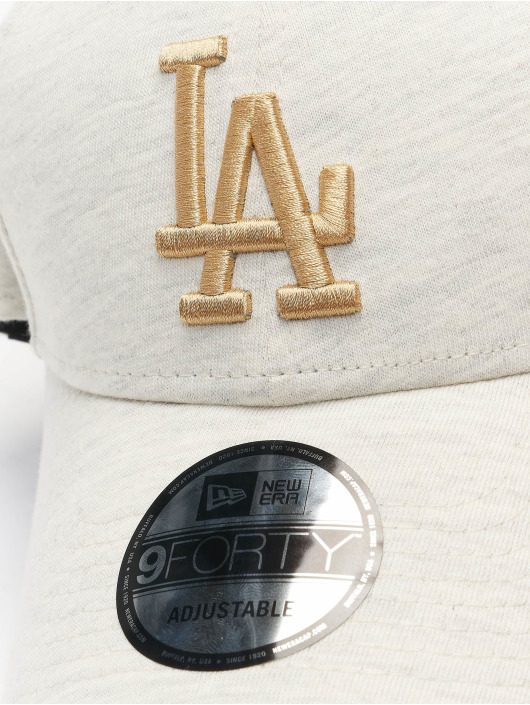 New Era Snapback Cap Jersey Ess Los Angeles Dodgers 9Forty beige