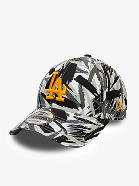 New Era Snapback Cap MLB Los Angeles Dodgers New Camo 9Forty bianco