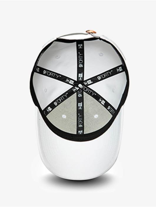 New Era Snapback Cap MLB New York Yankees Metallic Logo 9Forty bianco