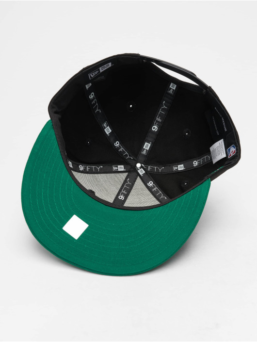 New Era Snapback Cap NBA Contrast Team Bosten Celtics 9 black