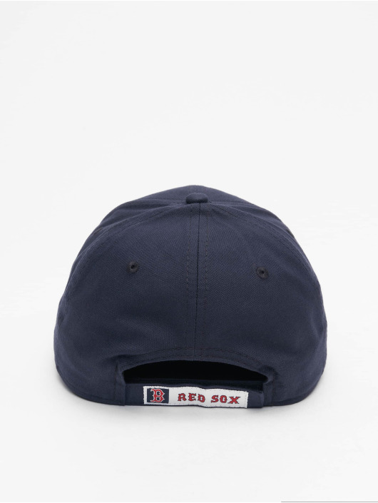 New Era Snapback Cap MLB Boston Red Sox Chambray League black