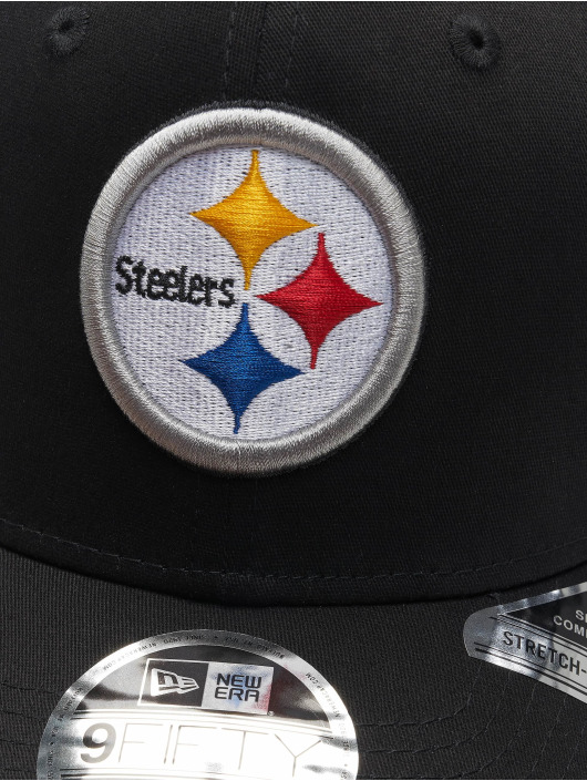 New Era Snapback Cap 9fifty Pittsburgh Steelers Strech black
