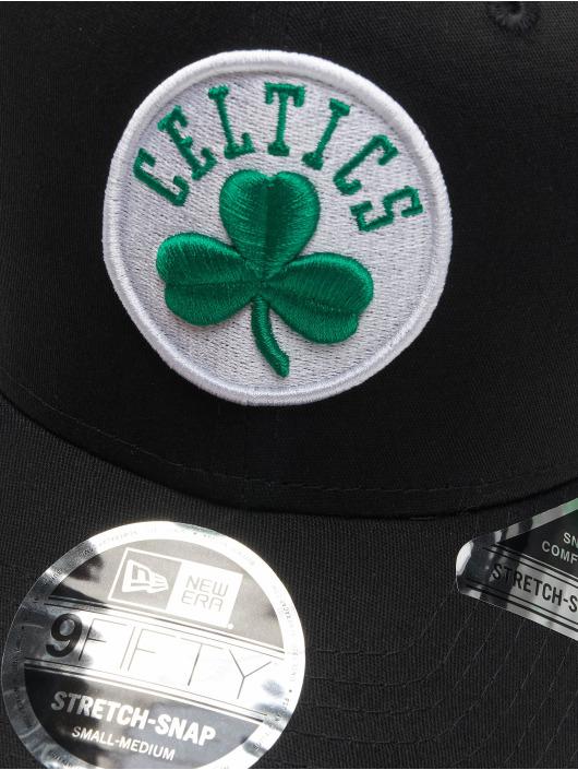 New Era Snapback Cap 9fifty Boston Celtics Stretch black
