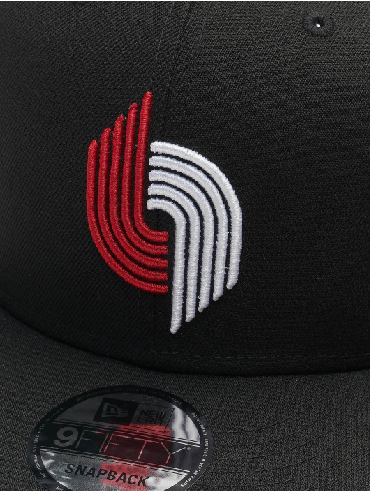 New Era Snapback Cap 9Fifty A8 001 Portland Trail Blazers black