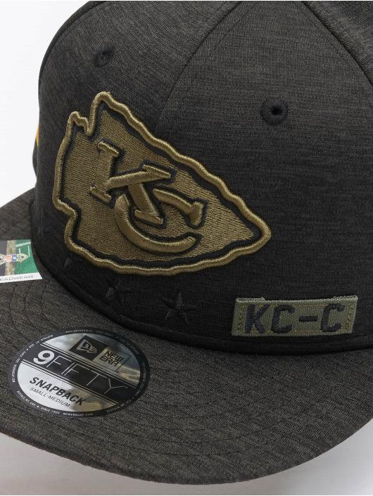 New Era Snapback Cap NFL 20 STS EM 9Fifty Kansas City Chiefs black