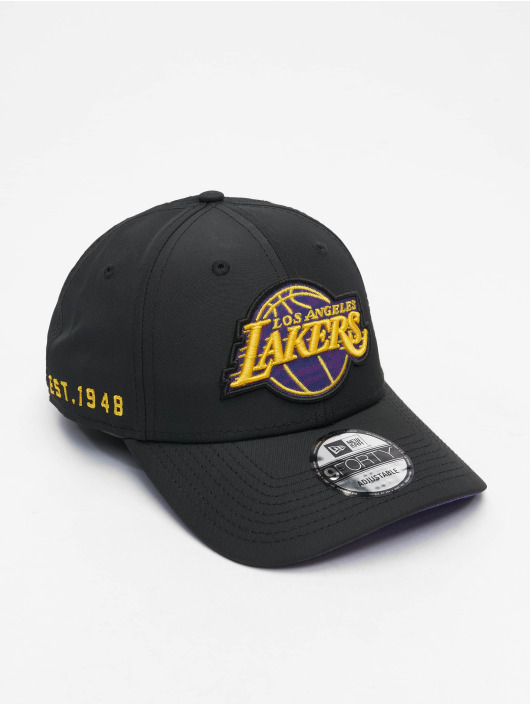 New Era Snapback Cap 9Forty Hook LA Lakers black