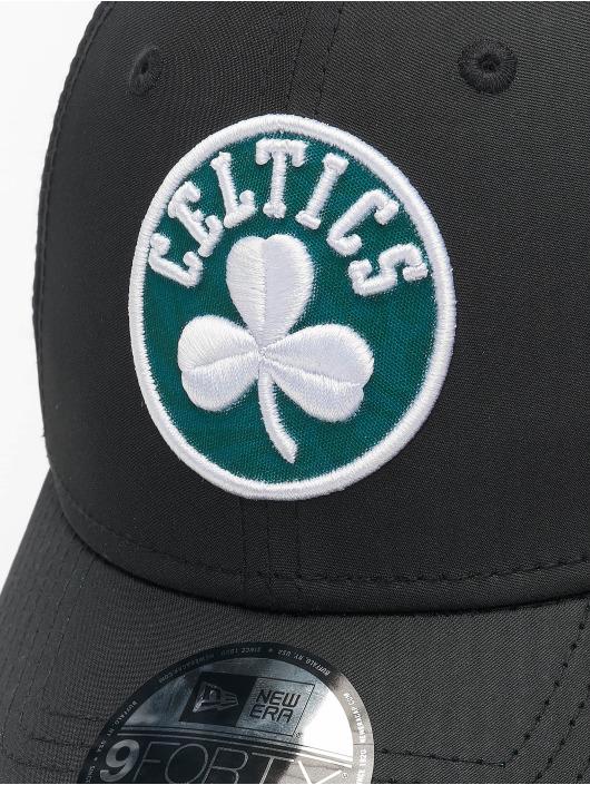 New Era Snapback Cap 9Forty Hook Boston Celtics black