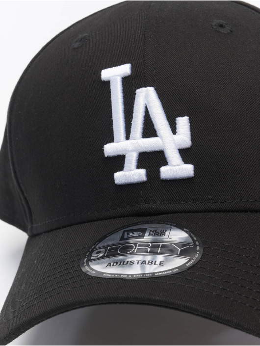 New Era Snapback Cap MLB LA Dodgers League Eshortsleeve 9forty black