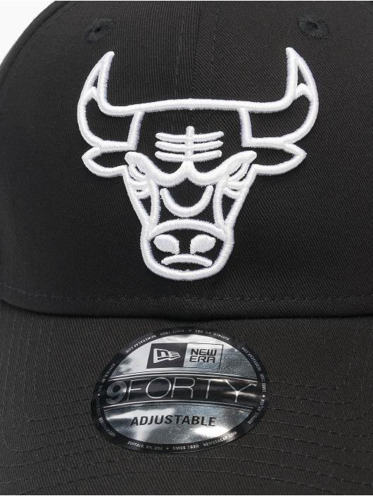 New Era Snapback Cap NBA Chicago Bulls Eshortsleeve Outline 9forty black