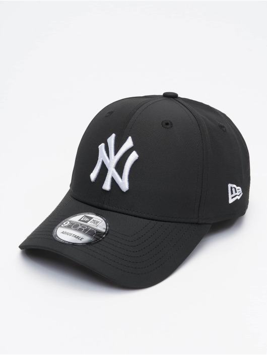 New Era Snapback Cap MLB NY Yankees Tech Fabric Licensed black