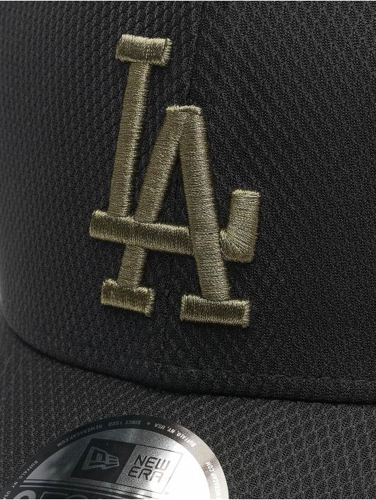New Era Snapback Cap Mlb Properties Los Angeles Dodgers Diamond Era 9forty black