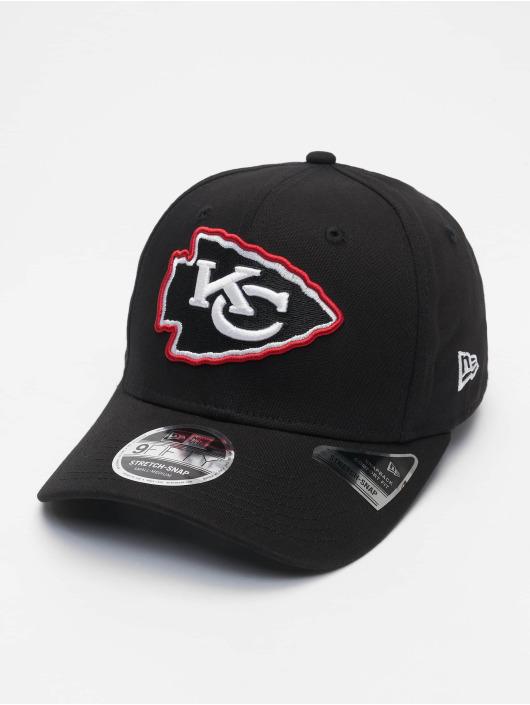 New Era Snapback Cap Nfl Properties Kansas City Chiefs Neon Pop Outline 9fifty black
