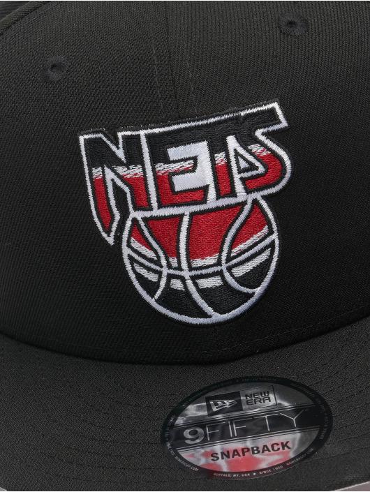 New Era Snapback Cap NBA 950 Brooklyn Nets Hardwood Classics Nights 2021 black