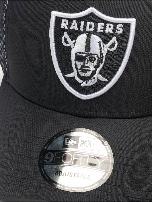 New Era Snapback Cap NFL Las Vegas Raiders Mesh Underlay 9Forty black