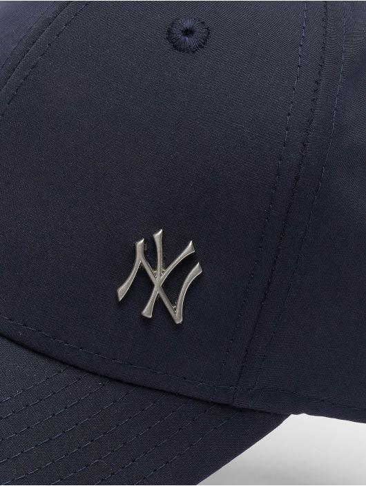 New Era Snapback Cap Flawless Logo Basic NY Yankees blau