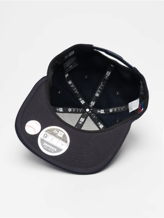 New Era Snapback Cap MLB Winter Utlty Melton Los Angeles Dodgers 9 Fifty blau