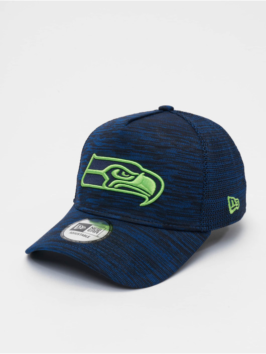 New Era Snapback Cap NFL Seattle Seahawks Engineered Fit 9forty A-Frame blau