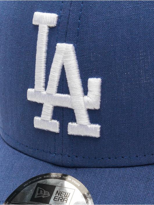 New Era Snapback Cap MLB LA Dodgers Chambray League blau