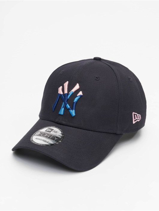 New Era Snapback Cap 9Forty Camo Infill NY Yankees blau