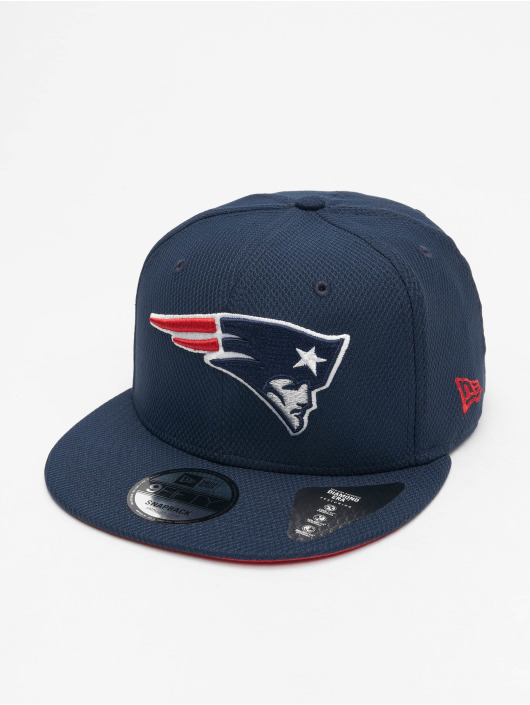 New Era Snapback Cap NFL New England Patriots Diamond Era Essential 9Fifty blau