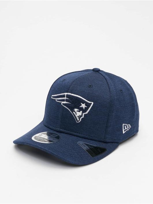 New Era Snapback Cap NFL New England Patriots Stretch blau