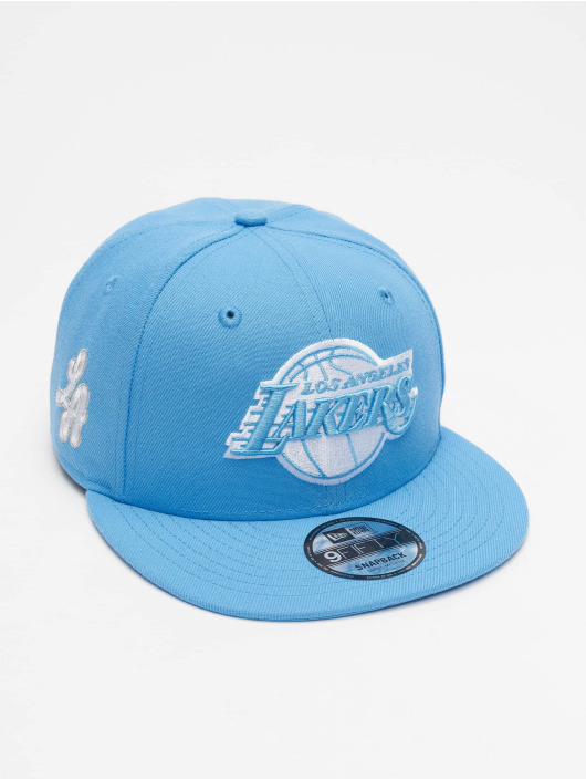 New Era Snapback Cap NBA20 Los Angeles Lakers City Alt EM 9Fifty blau