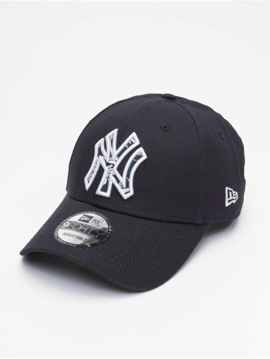 New Era Snapback Cap MLB NY Yankees Infill blau
