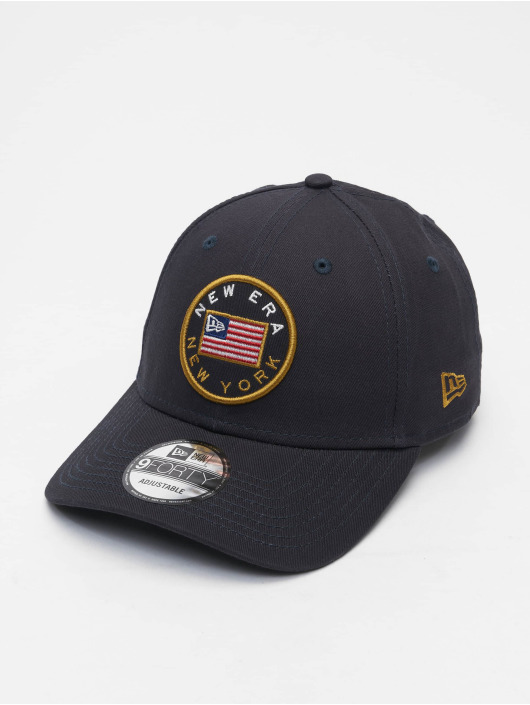 New Era Snapback Cap US Flag Pack 9Forty blau